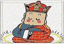JoneAJ Cartoon chinesische Elemente Tang Seng Bad