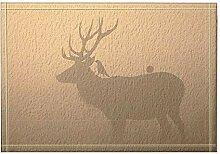 JoneAJ Deer Home Decor Bird on The Deer