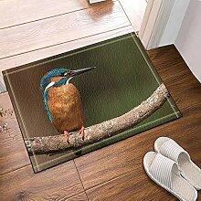 JoneAJ Der Vogel auf dem AST Badteppiche