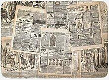 JoneAJ Französisch Retro Zeitung Hintergrund