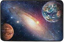 JoneAJ Galaxy Nebula Space Cosmic Fußmatte Indoor