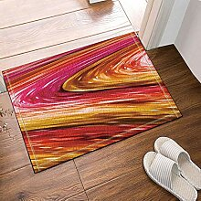 JoneAJ Geschmolzene Farbe Farbe Bad Teppiche