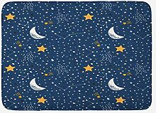 JoneAJ Haushalt Dusche Teppich Nachthimmel