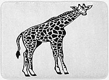 JoneAJ Haushalt Teppich Giraffe Badematte Wilde
