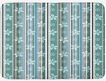 JoneAJ Haushalt Teppich Matte abstrakte kalte