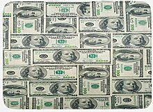 JoneAJ mit Federal Reserve Ben Franklin Porträt
