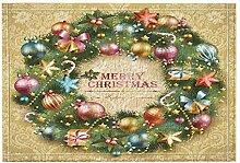 JoneAJ Neujahr Dekor Weihnachtskugel Glocke