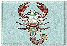 JoneAJ Ornamental Design Skorpion in hellblau