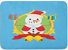 JoneAJ Porträt Hause Teppich Weihnachten