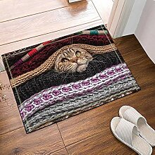 JoneAJ Schöne Katze verstecken die Wolle