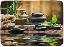 JoneAJ Spa Badematte Asian Zen Massage Stein