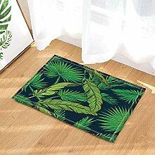 JoneAJ Tropische grüne Palmblätter Startseite