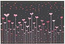 JoneAJ Valentinstag Bad Teppiche Kreativität
