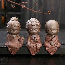 JONJUMP Buddha, niedliches Haustier-Dekoration,