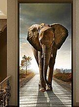 Jonp 3D wallpaper Tapete Fresko Wandmalerei Wandbild Minimalistischen Modernen Ideen Auf Dem Hintergrund Der Elefant Wall Art Personalisierte Custom Hintergrundbild Einer Straße Flur 300cmX220cm