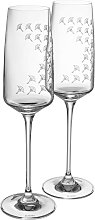 Joop Champagnerglas JOOP FADED CORNFLOWER, (Set, 2