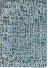 JOOP CROCO 170/240 cm Blau, Silberfarben
