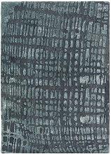 Joop! JOOP CROCO 200/300 cm Grau , Abstraktes,