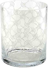 Joop! VASE , Transparent , Glas , zylindrisch , 22