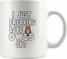 Jopath Ich nur Freaking Love Owls Ok Pet Bird