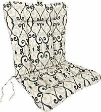 Jordan Herstellung Schmiedeeisen Stuhl Kissen, caminade Shadow