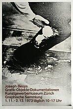 Joseph Beuys Ausstellung Plakat, 1973
