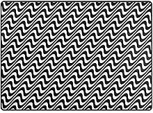 Josid Area Rugs Teppich, 160 x 122 cm, modern,
