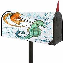 Josid Cartoon Goldfisch und Seepferdchen Große