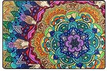 Josid Custom Karierter Rutschfester Teppich