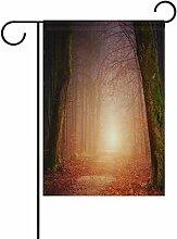 Josid Garten Flagge Banner Natur Holz Baum Licht