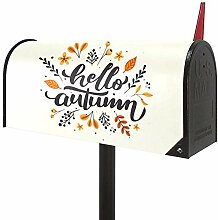 Josid Hello Summer Große Briefkasten-Abdeckung,