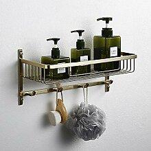Jouyus Eckregal für Badezimmer aus gebürstetem