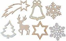 JOWE® Christbaumschmuck   Figuren aus Holz mit