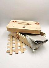 JOWE® Zirbenbrotdose | Brotdose aus Zirbe |