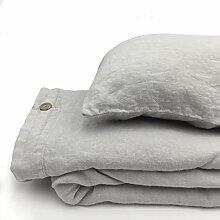 Jowollina Natur Leinen Stonewashed Bettwäsche