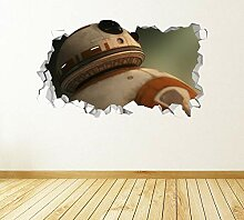 Joyas Robot 3D Aussehen-Kinderzimmer Junge
