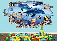 Joyas Wandaufkleber Fisch niedlichen Tank