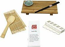 Joyce Chen Sushi-Set Sushi-Set 7 Piece braun