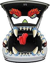 JOYIN Monster-Gesicht Halloween Kofferraum oder