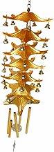 joyMerit Chinesische Metallglocke Lucky Feng Shui