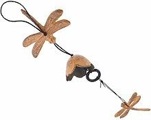 joyMerit Windspiel Mit Libelle Gusseisen Glocke
