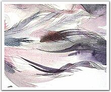 JP London poslt2281ustrip Lite abnehmbarer Tapete Aufkleber Aufkleber Wandbild Waiting für Wind Aquarell, 24x 19.75-inch