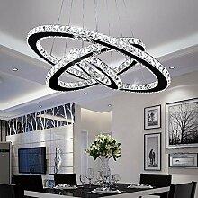 JPDD Moderne LED-Kristallleuchter-Licht Für