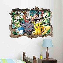 JPDP 3D Wandkunst Aufkleber Für Kinderzimmer