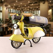 JPL Weinregal Weinregale Eisen Kunst Motorrad Form