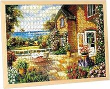 JPOYT-O Holz Puzzle Rahmen 1000pc, Bilderrahmen