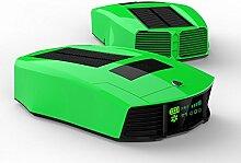 JQ Auto Solar Auto Luftreiniger Anion Sauerstoff Bar Aroma Sterilisation Zus?tzlich zu Formaldehyd Dunst Luftreiniger Luftbefeuchter,Grün
