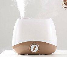 JQ Ultraschall-nebel-reinigungsapparat Mini Aroma Luftbefeuchter Home Maternal und Child Office Mute Cleaner,Weiß braun