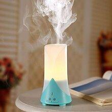 JQ Usb Mini Aromatherapie Maschine Luftbefeuchter ?therisches ?l Diffusor Ultraschall Aromatherapie Nacht Licht Luftreiniger,Grün