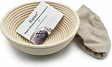 jranter Brot Proofing Korb Natur Rattan Zuckerrohr